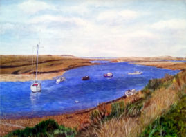 Brancaster, Staithe  in acrylic