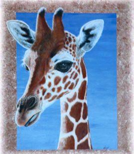 """""""Giraffe"""" in Acrylic"""
