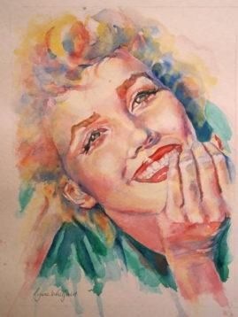 """Sunny Smile"" - watercolour, Sold"