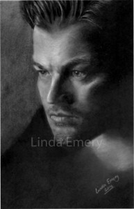 Portrait of Leonardo Di Caprio