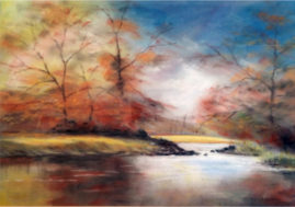 'Autumn Colours'  Pastel