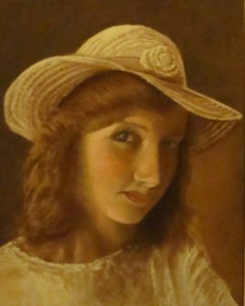 The Girl  - in pastel