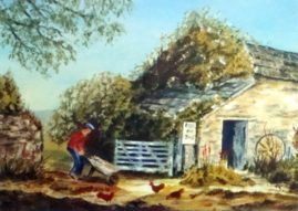 """Life In The Country""   medium - acrylics,"