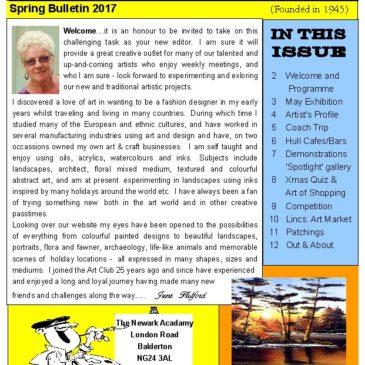 Spring Bulletin 2017
